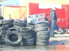 Неизвестные обстреляли воинскую часть у складов в Соледаре