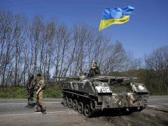 В перестрелке под Славянском погибли украинские военные