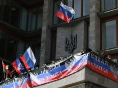 Онлайн-трансляция: в захваченной обладминистрации ДНР ждёт выступления своего лидера Пушилина (ВИДЕО)