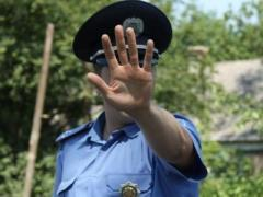 В связи с проведением АТО ограничен въезд автотранспорта в Донецк