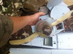 В СБУ показали сбитый российский беспилотник (ФОТО)