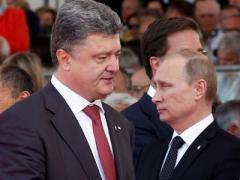 Порошенко поговорил по телефону с Путиным и обсудил ситуацию в Донбассе