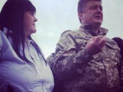 Порошенко посетил зону АТО, приехал в Святогорск и поговорил с народом (ВИДЕО)