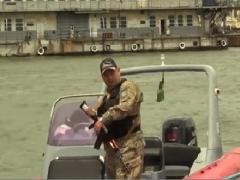 Охрана границ на Азовском море усилена (ВИДЕО)