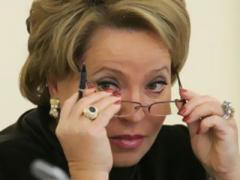 """Валентина Матвиенко: """"Крым наш, Украине его не вернём"""" (ВИДЕО)"""