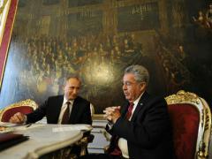 Путину в Вене намекнули, что сто лет назад Украина была частью Австрии (ВИДЕО)