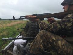 СНБО сообщает, что бегущих из Украины террористов расстреливают российские пограничники (ВИДЕО)