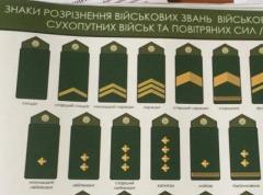 Разработаны концепции знаков различия для армии