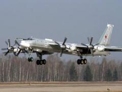 Российский бомбардировщик выкатился со взлетной полосы и загорелся