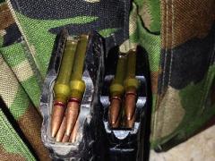 В Донецкой области   военнослужащий через блокпост перевозил боеприпасы
