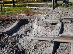 Разминирование железнодорожного пути в зоне АТО (ВИДЕО)