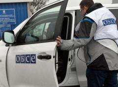 """""""Их"""" нравы: во время словесной перепалки боевик пытался взорвать машину ОБСЕ"""