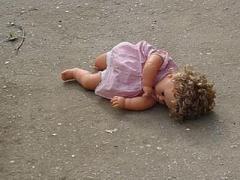 Во время ночного обстрела Марьинки ранена 5-ти месячная девочка