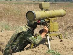 Боевики днем обстреливали Марьинку противотанковыми ракетами