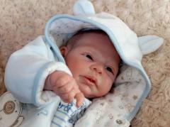 В России новорожденного  назвали Крым