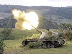 Ночью 40 минут боевики обстреливали Лебединское