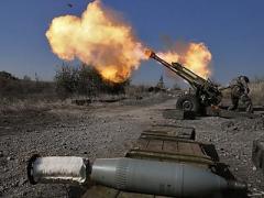 За прошедшие сутки боевики 77 раз обстреляли позиции сил АТО