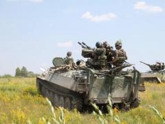 За минувшие сутки в зоне АТО среди военных погибших нет, один боец ранен
