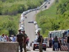 Контроль-пропускные пункты на Донбассе переходят на зимний режим работы