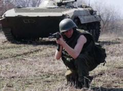 """Террористы из """"Сомали"""" обстреляли из танков Харцызск"""