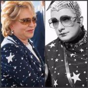 Спикер совета федерации РФ одевается в стиле Сердючки