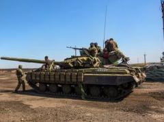 Террористы  «ДНР» перебросили танки и ББМ в район Курдюмовки