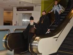 Патриарх Филарет, в отличие от московского коллеги, ходит без охраны