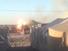 Взорвался украинский танк. Четверо солдат получили ранения (ВИДЕО)