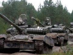Боевики прячут технику в зоне АТО