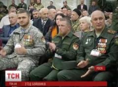 """""""Моторолу"""" и его соратников с почестями встретили на съезде боевиков"""