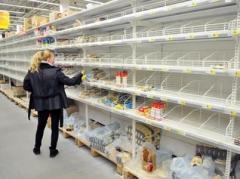 Цены на продукты в Донецке зашкаливают