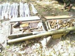В Артемовске и Крымском СБУ обнаружила тайники с оружием