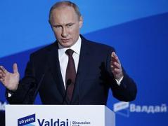 """Путин  на сессии клуба """"Валдай"""" требовал амнистии для главарей боевиков Донбасса"""