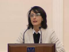 Во главе украинской полиции станет экс-министр образования Грузии, женщина