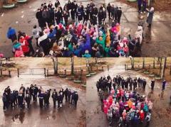 Школьники из Вологодской области участвовали во флешмобе «Убей ИГИЛ» (ВИДЕО)