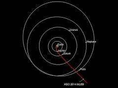 Зонд New Horizons взял курс на астероид