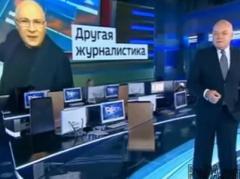 """Ганапольский  показал, как Киселев на российском ТВ """"делает""""  90% поддержку Путину (ВИДЕО)"""