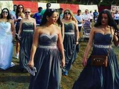 Отвергнутая невеста пробежала пять километров в свадебном платье