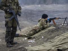 Боевики обстреляли населенные пункты под Мариуполем, - штаб АТО