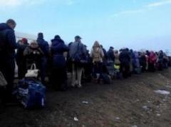 На КПП в Донецкой и Луганской областях  развернут пункты обогрева