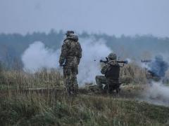 Под  Донецком  бойцы ВСУ попали под обстрел, есть погибший и раненые