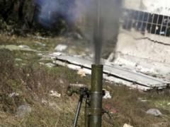 Под Донецком украинских военных накрыли огнем из минометов