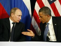 Стало известно, что  Обама говорил  Путину на встрече в Париже