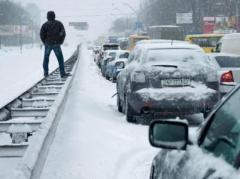 На Украину надвигается мощный циклон