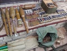 Взрывоопасно! В Донецкой области изъяли около 4 тысяч гранат и 220 кг взрывчатки