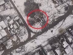 Вот как под Горловкой боевики прячут танки