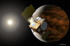 Японский космический зонд добрался до Венеры