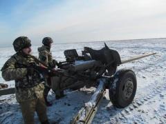 Украинские военные потеснили боевиков возле Новотроицкого