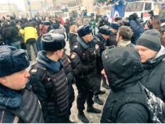 В Москве задерживают оппозиционеров
