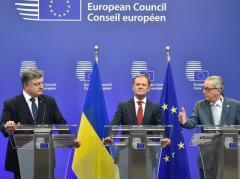 Порошенко ждет от ЕС санкций для России. А ЕС от Украины - изменений